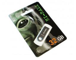 USB Flash Drive 32Gb Hi-Rali Shuttle series Black /  HI-32GBSHBK