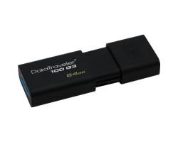 USB 3.0 Flash Drive 64Gb Kingston DT 100 G3, DT100G3/ 64GB