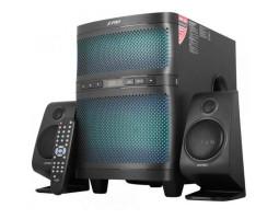 Колонки 2.1 F&D F580X Black, сателлиты 2 x 17.5 Вт, сабвуфер 35 Вт, МДФ/ пластик, Bluetooth, FM, USB, питание от сети 220V, управление спереди + пульт ДУ