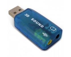Звуковая карта USB 2.0, 5.1, Dynamode 3D Sound, 90 дБ, Xear 3D, Blister (USB-SOUNDCARD2.0