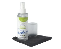Набор чистящий Patron, для TFT/ LCD:: спрей 120 мл, салфетка из микрофибры (F3-022)
