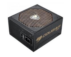 Блок питания 800W, Cougar GX 800, Black, 140 мм, PFC, 80 Plus Gold, Modular, MB:: 20+4 pin, CPU:: 2 x 4+4 pin, VGA:: 6 x 6+2 pin, 4xMolex, 10xSATA, Защиты:: OVP/ OPP/ SCP/ UVP/ OCP