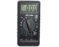 Мультиметр DT182, Black