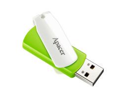 USB Flash Drive 32Gb Apacer AH335 Green /  AP32GAH335G-1