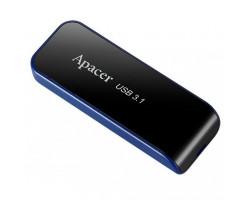 USB 3.1 Flash Drive 32Gb Apacer AH356 Black, AP32GAH356B-1