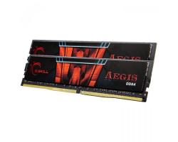 DDR4 16Gb x 2 (32Gb Kit), 3000 MHz, G.Skill Aegis, 16-18-18-38, 1.35V (F4-3000C16D-32GISB)