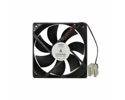 Вентилятор 120 mm Cooling Baby 12025S черный лак, 120x120x25мм HB 1200 об/ мин 25дБ, SB 12В 0.25A, 4pin MOLEX