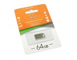 USB Flash Drive 64Gb T&G 107 Metal series /  TG107-64G