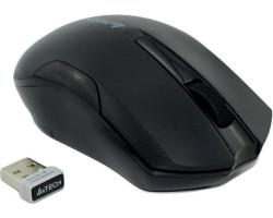 Мышь A4Tech G3-200NS 1000dpi Black, USB V-TRACK, Wireless