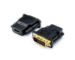 Переходник DVI > HDMI (DVI-D папа - HDMI мама) Cablexpert,  A-HDMI-DVI-2