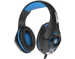 Наушники Crown CMGH-102T Black/ Blue