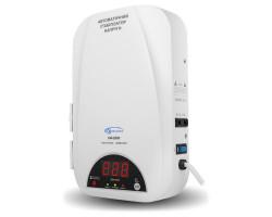 Стабилизатор Gemix SW-2000 2000VA (1400 Вт), вход. напряжение 140-260В, вых напряжение 220В + - 6,8% 50 Гц, цифровые индикаторы