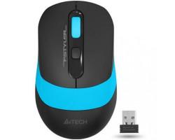 Мышь A4Tech Fstyler FG10 2000dpi Black+Blue, USB, Wireless