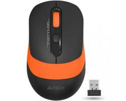 Мышь A4Tech Fstyler FG10 2000dpi Black+Orange, USB, Wireless