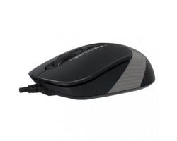 Мышь A4Tech Fstyler FM10 1600dpi Black+Grey, USB