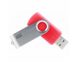 USB 3.0 Flash Drive 32Gb Goodram UTS3 (Twister) Red /  UTS3-0320R0R11