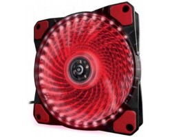 Вентилятор 120mm Frime Iris LED Fan 33LED Red (FLF-HB120R33);; 120х120х25мм, 3-pin+4-pin, 1100об/ м