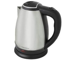 Электрический чайник Esperanza EKK004I Silver, 2200W, 1.8 л, нагревательный элемент дисковый, индикатор работы, нержавеющая сталь
