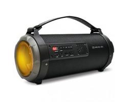 Колонка портативная REAL-EL X-720 Black, 15W, Bluetooth, RGB -  подсветка, 2600 mAh, FM, USB, microSD, 1350 г, 315 x 138 x 146 мм