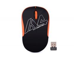 Мышь A4Tech G3-300N Black+Orange, USB V-TRACK, Wireless
