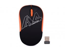 Мышь A4Tech G3-300N Black+Orange, USB V-TRACK, Wireless