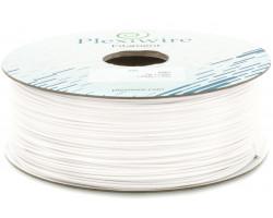 ABS пластик Plexiwire для 3D принтера 1.75мм белый (300м /  0.75кг)