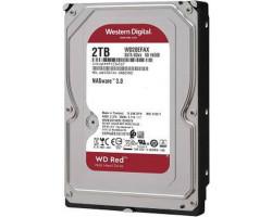 Жесткий диск 3.5″ 2Tb Western Digital Red, SATA3, 256Mb, 5400 rpm (WD20EFAX)