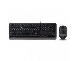 Комплект A4Tech Fstyler Sleek Multimedia Comfort F1010, Black/ Grey Sleek клавиатура+мышь, USB