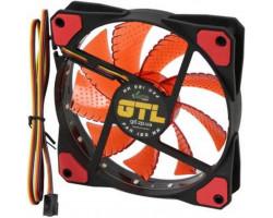 Вентилятор 120 mm GTL LED Red, 120x120x25мм, 2500 об/ мин, 3 pin (120 mm GTL Red)