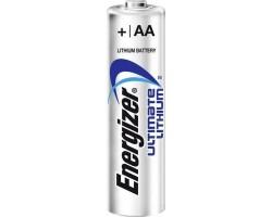 Батарейкa LR6 (AA) Energizer Ultimate, Lithium, 1.5V, Blister, 1 шт