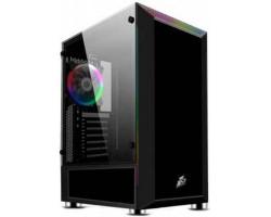 Корпус 1stPlayer H5-R1 Color LED Black без БП