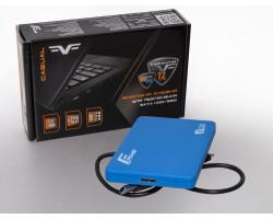 Карман HDD 2.5″ Frime FHE31.25U30 USB 3.0 micro-B, Soft touch, Blue